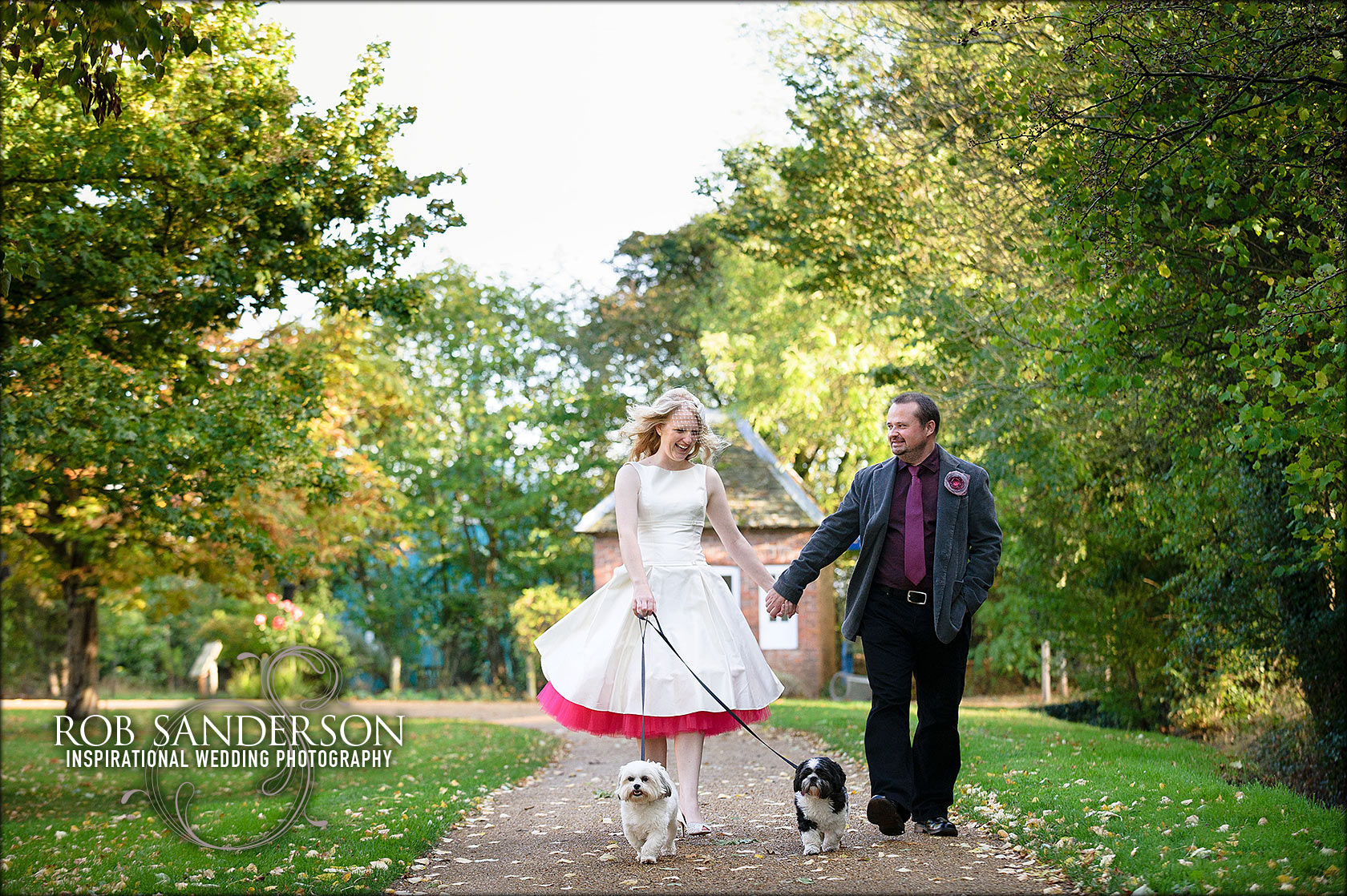 wedding photographer at Avoncroft Museum
