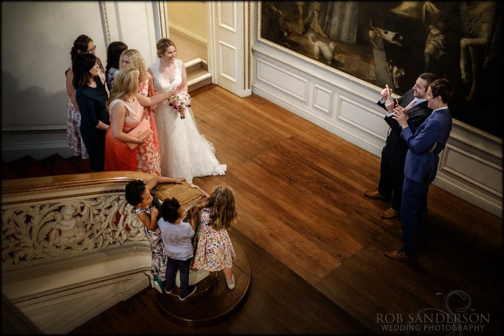 Wedding photography at Knowsley Hall