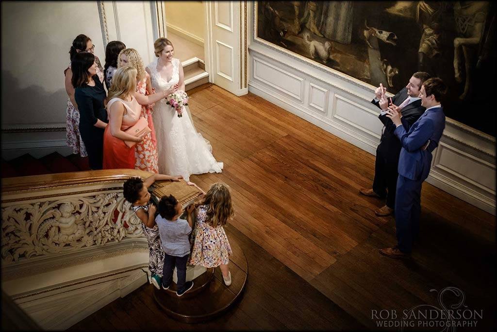 documentary wedding photography at knowsley hall