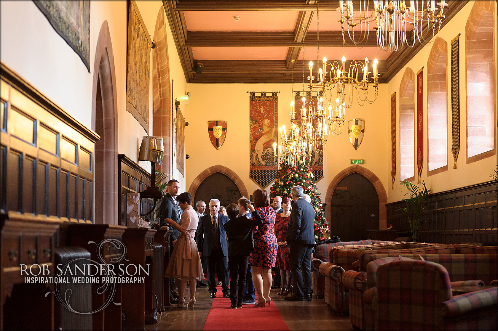 Peckforton Castle wedding images by Rob Sanderson Photography