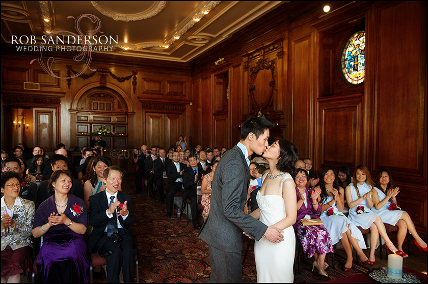 Croxteth Hall first kiss