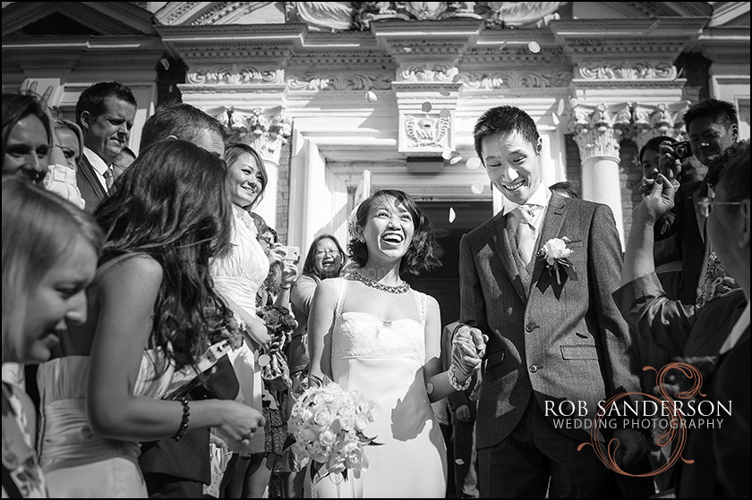 Wedding photography at Croxteth Hall