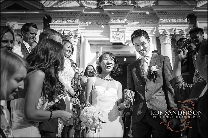 Wedding photography at Croxteth Hall