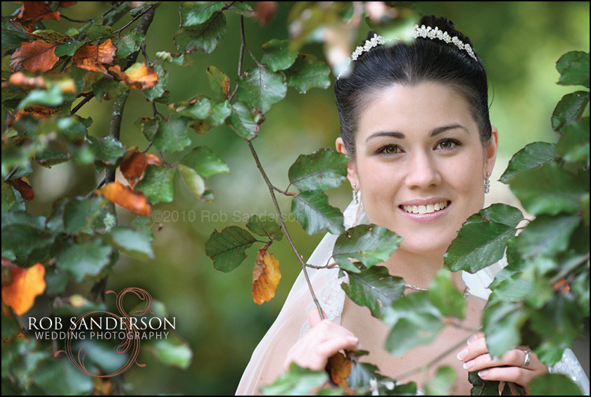 gorgeous bride at Haslington Hall wedding