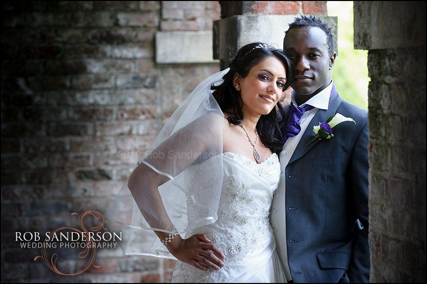 gorgeous couple at Knowsley Hall
