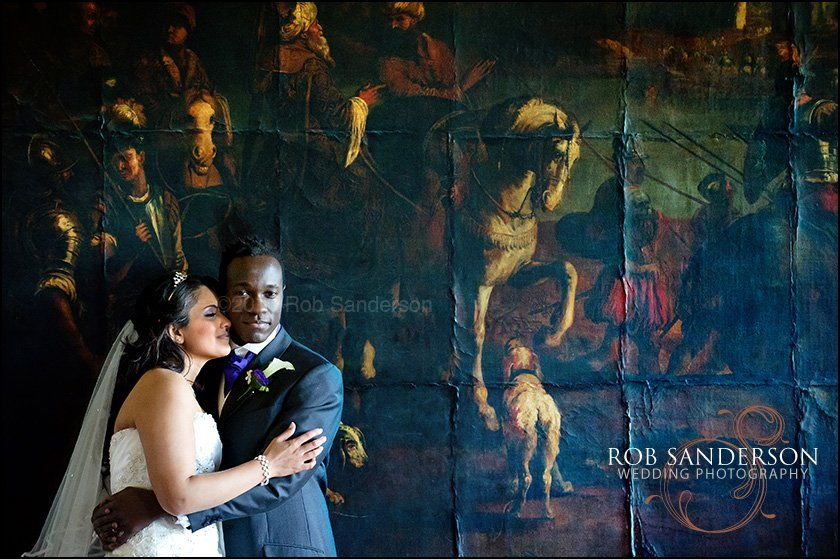 Wedding images from Knowsley Hall