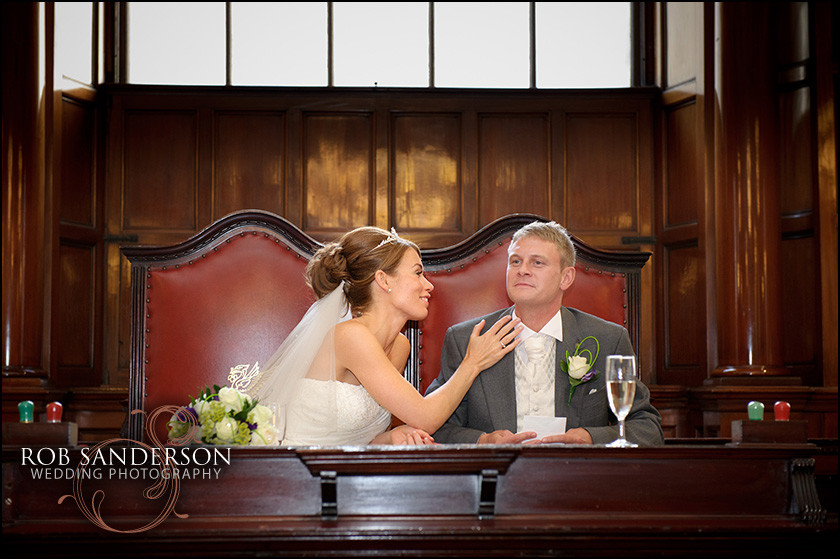 Liverpool wedding photographer town hall