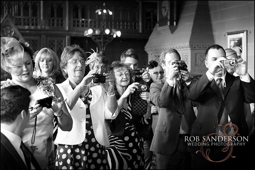 Manchester Town Hall wedding guests