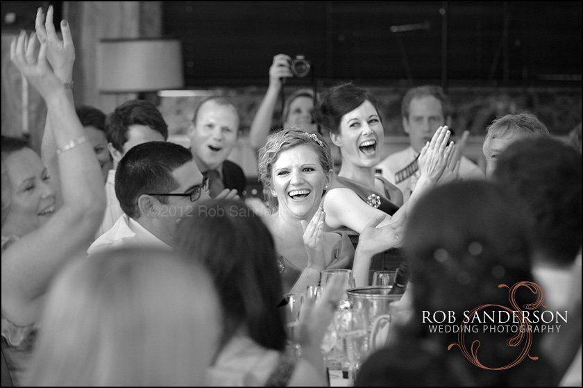 Wedding reception at The Exchange restaurant Manchester