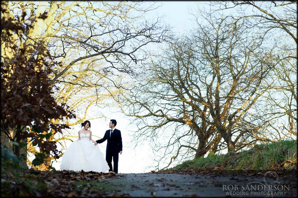 Sefton Palm house winter wedding
