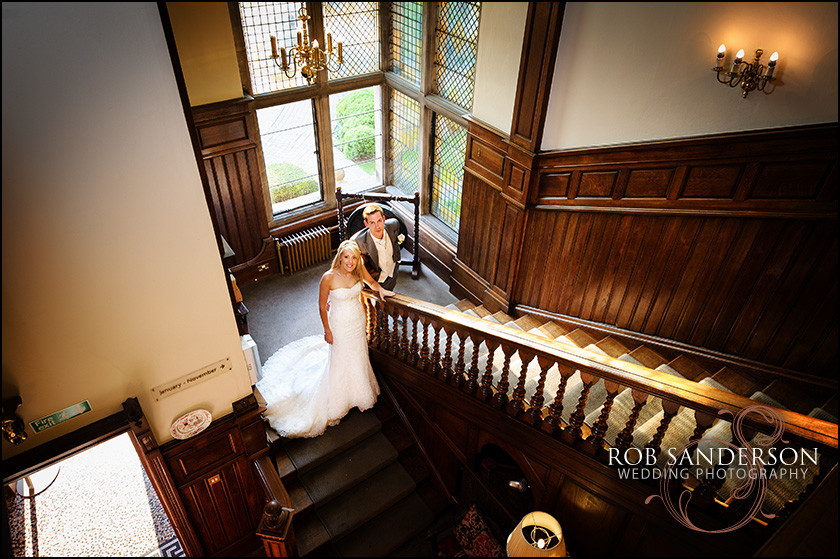 Wedding photographers at Rookery Hall in Cheshire