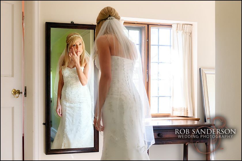 Wedding photography at Rookery Hall in Cheshire