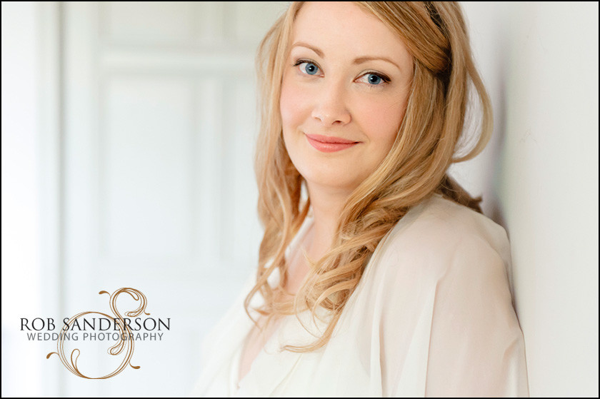 Thornton Manor bride portrait