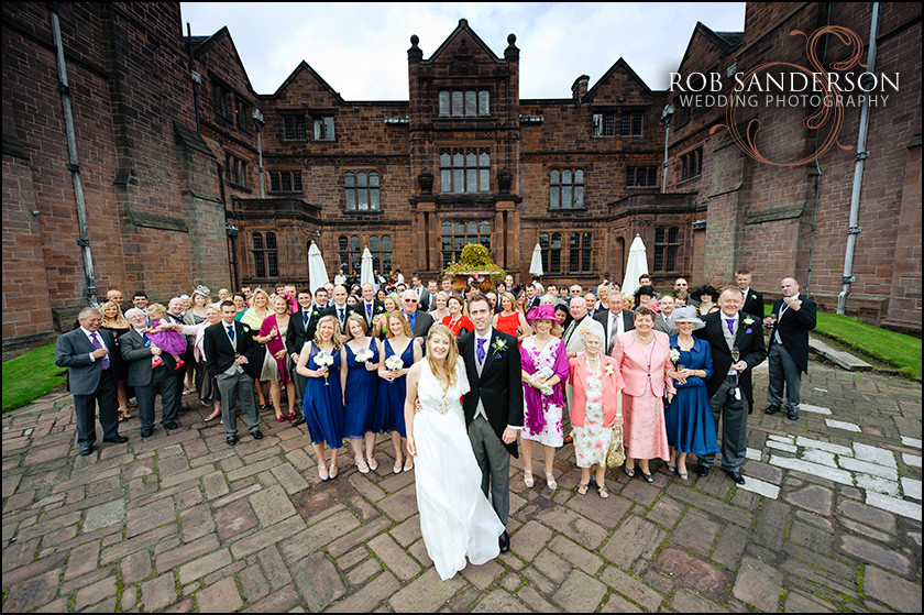 wedding party at Thornton Manor