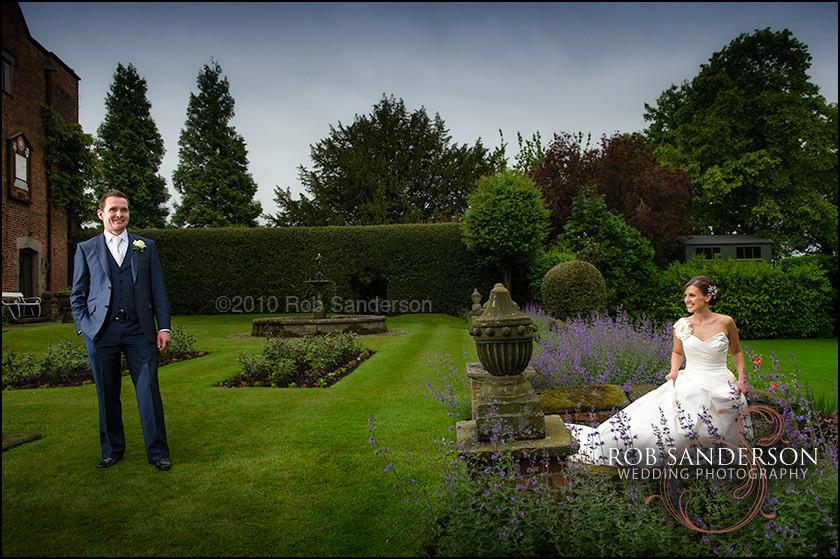 Gawsworth Hall wedding