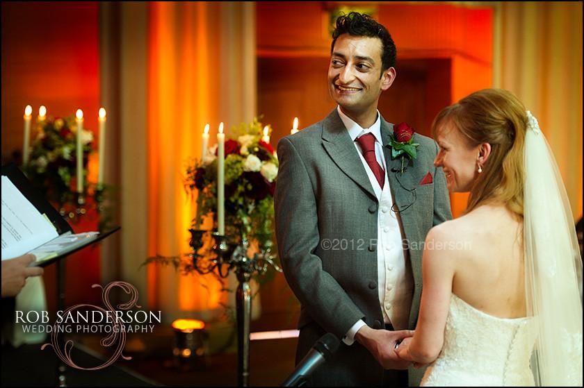 Wedding vows at Tatton Park