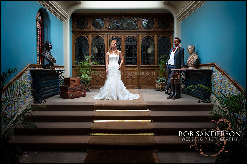 Cool Tatton Park wedding photo