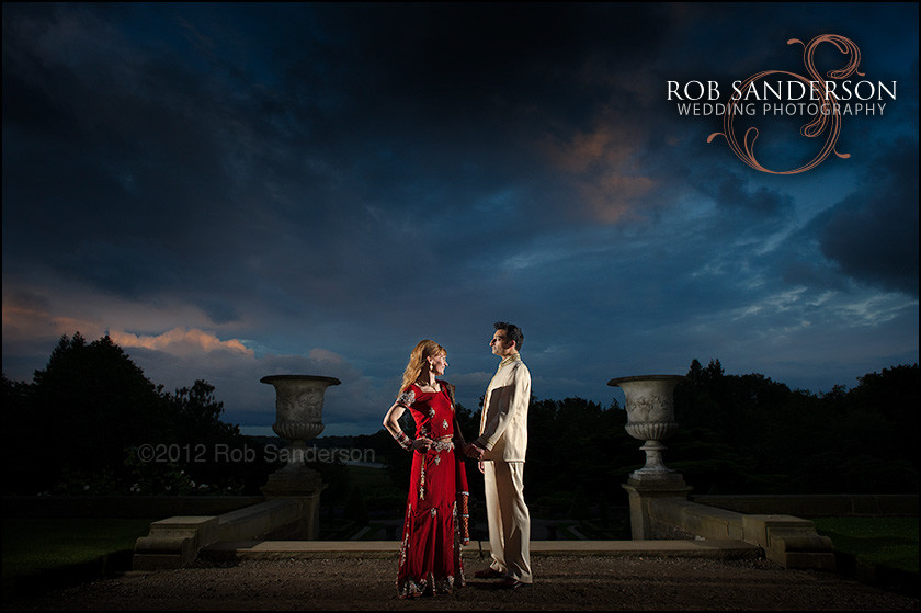 Cool wedding photography Tatton Park Cheshire
