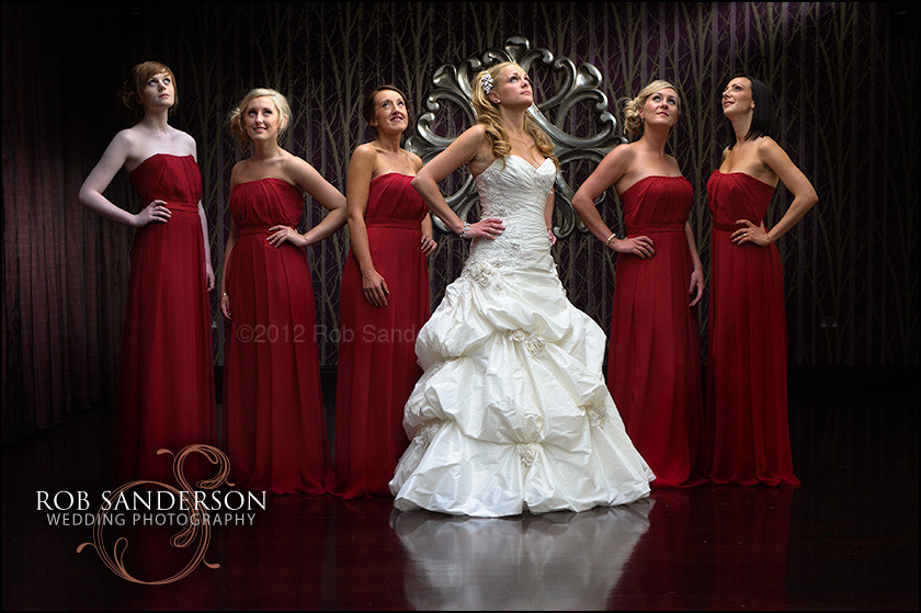 stunning bride picture at the queens hotel chester