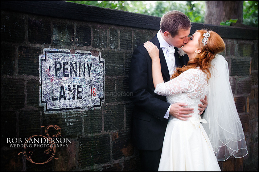 Penny Lane wedding