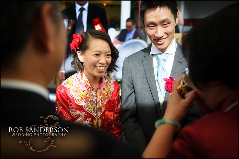 Chinese wedding photography at City Rendezvous