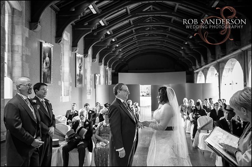 Alnwick castle wedding marriage