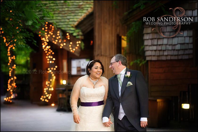 Alnwick gardens treehouse wedding