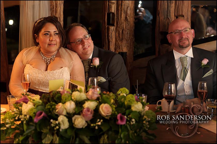 wedding in Alnwick treehouse
