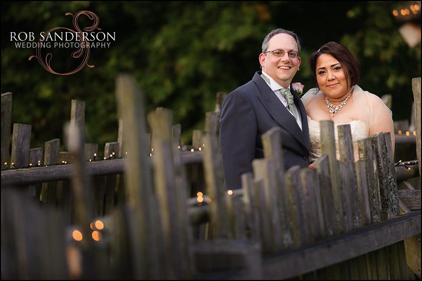 Alnwick treehouse wedding