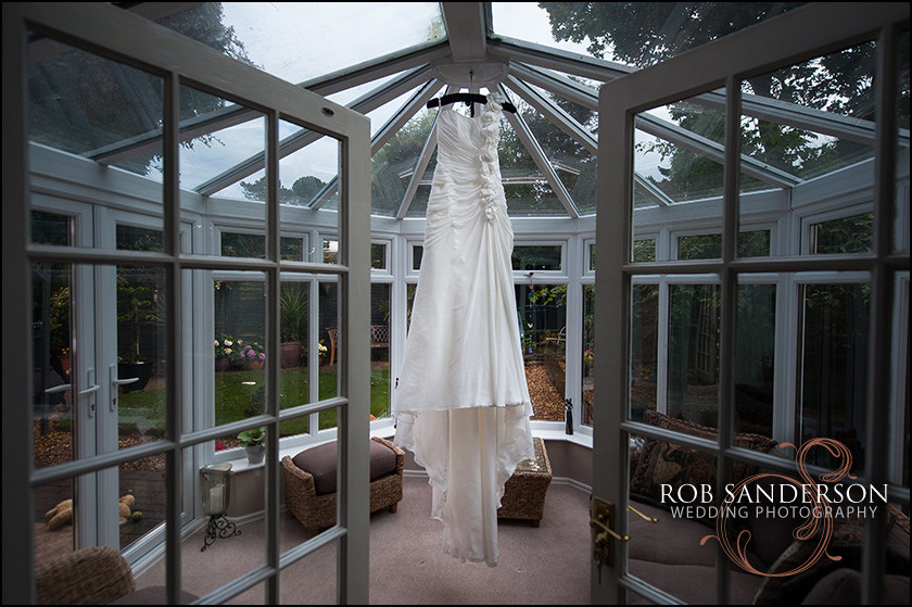 Leverhulme Hotel wedding dress