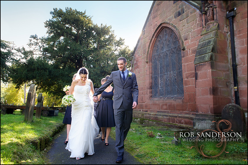 St Marys Parish church port sunlight wedding