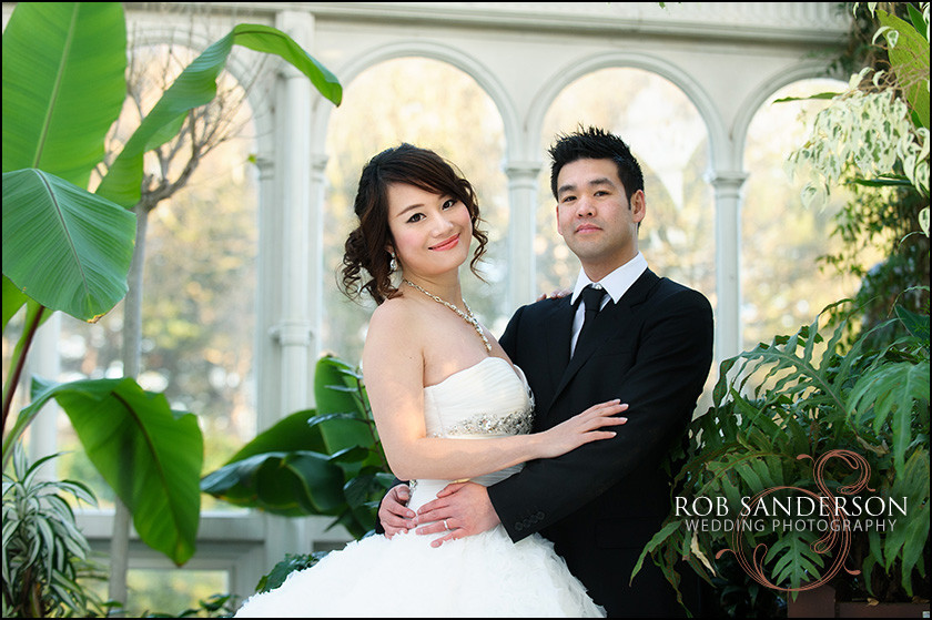 Wedding Image Sefton Palm House