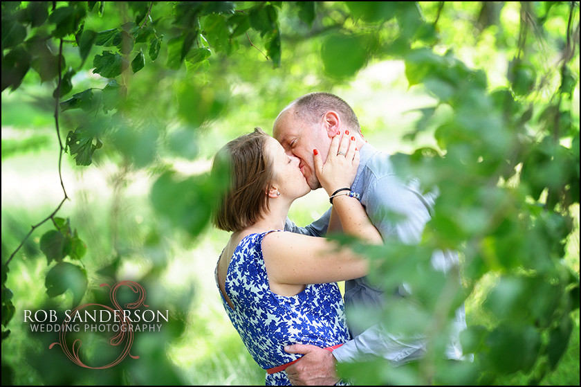 Engagement photo in Sefton Park Liverpool