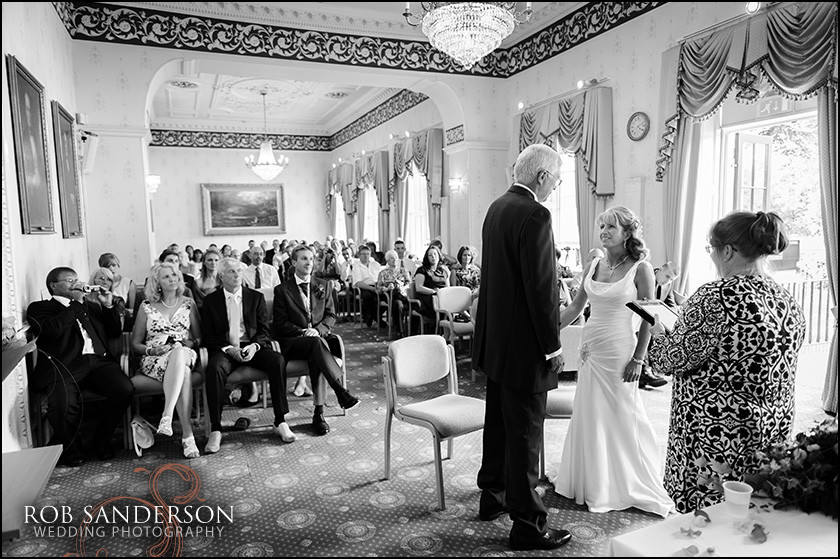 wedding photos at Warrington Town hall