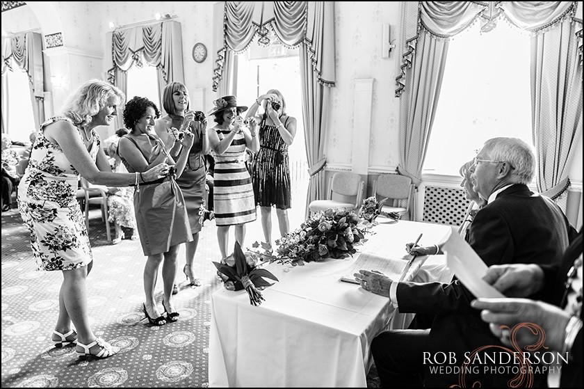 wedding photo Warrington Town Hall