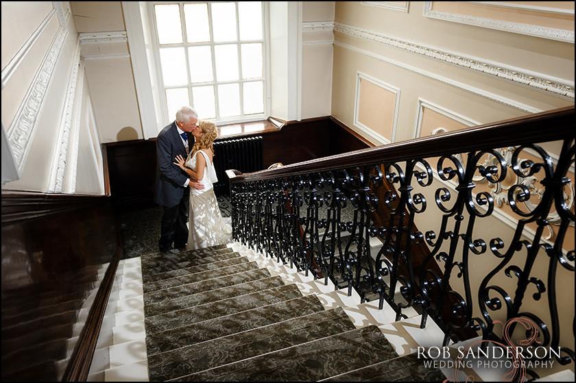 stylish wedding photo at Warrington Town Hall