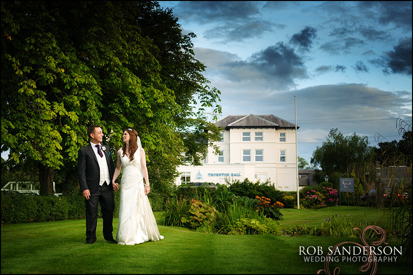 Thornton Hall Hotel wedding photos