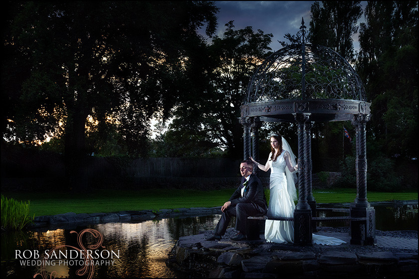 Thornton Hall Hotel wedding photographer