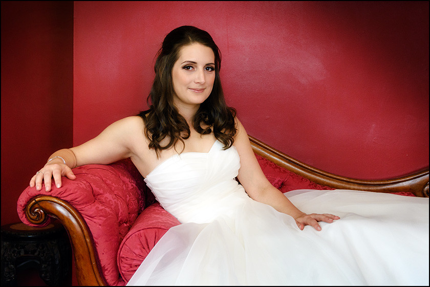 Bride at the Racquet Club Liverpool