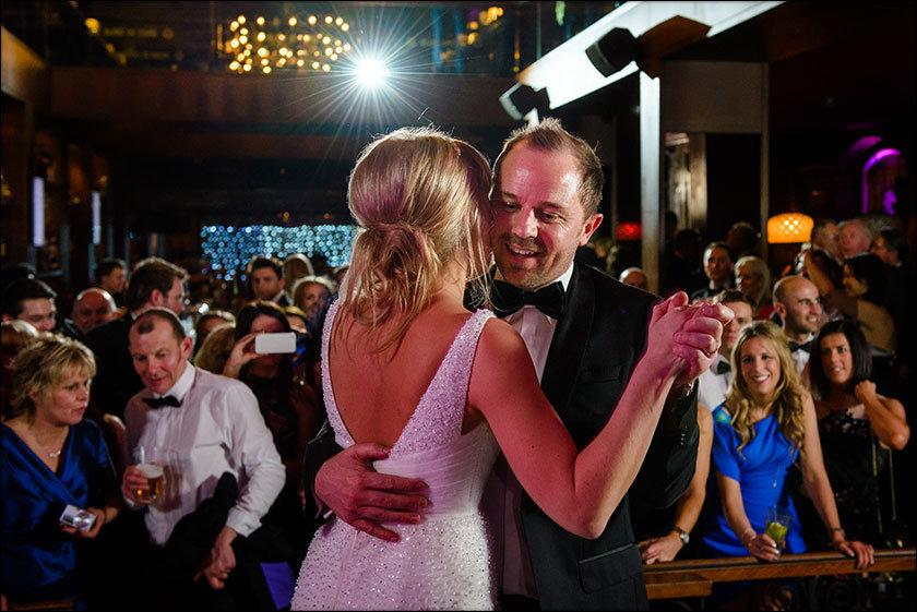 Alma de cuba wedding dance