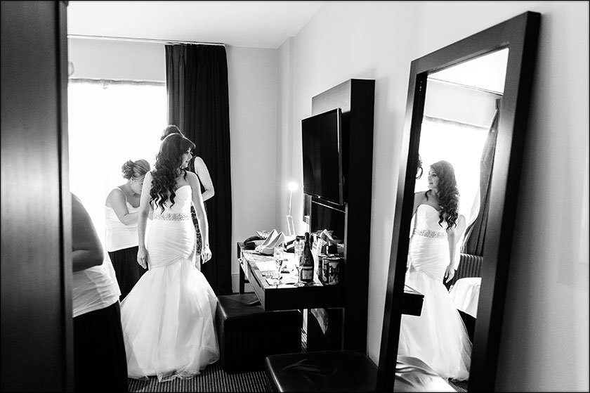 stunning Malmaison wedding