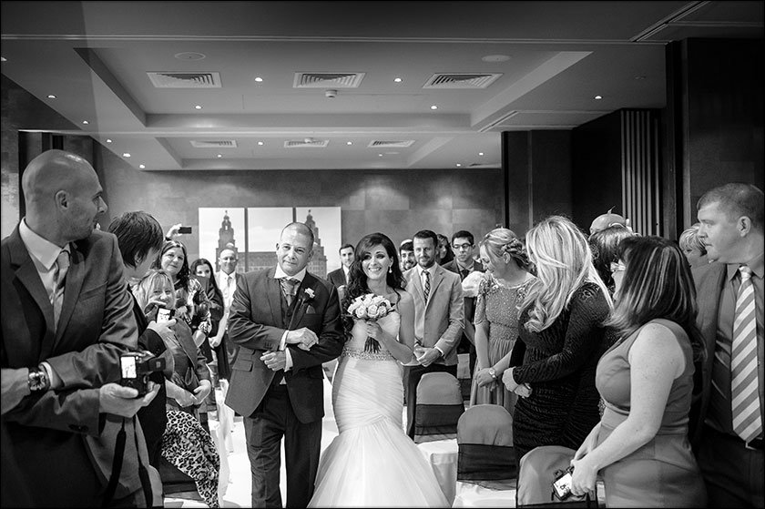 Malmaison wedding in Liverpool