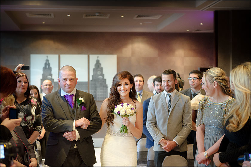 Liverpool Malmaison wedding