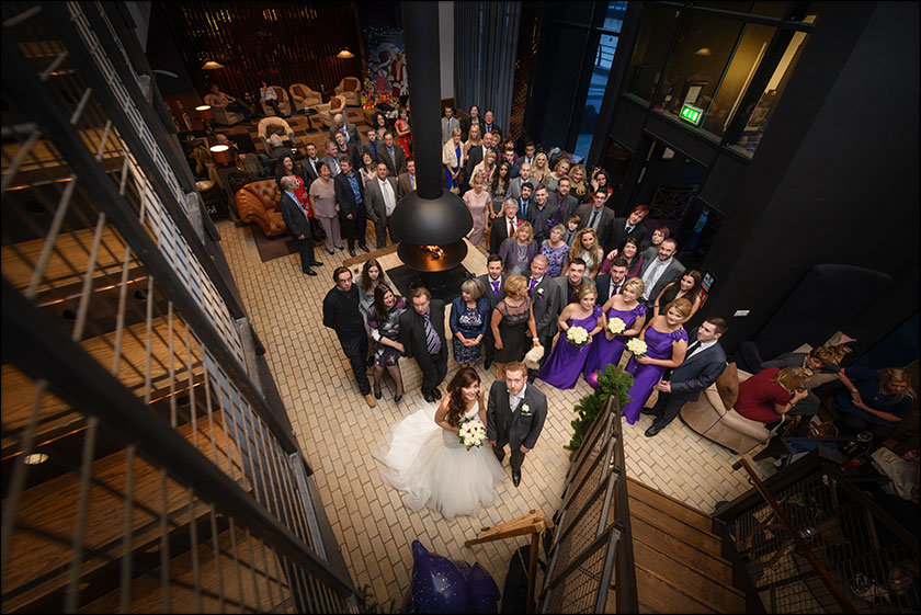 awesome wedding at Malmaison hotel Liverpool