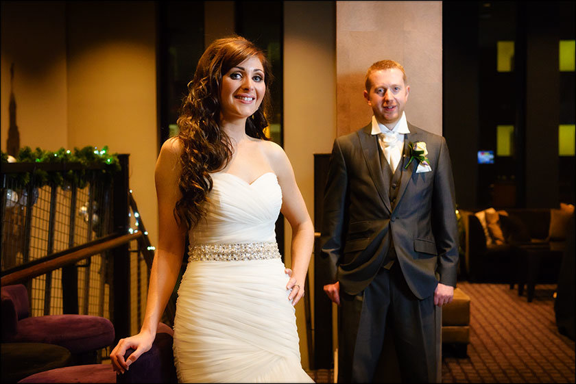 Malmaison Liverpool bride and groom