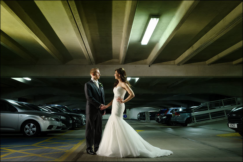 Creative wedding photography at Malmaison Liverpool