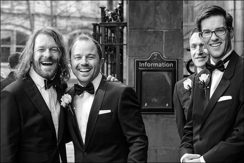 groom outside st nicks liverpool