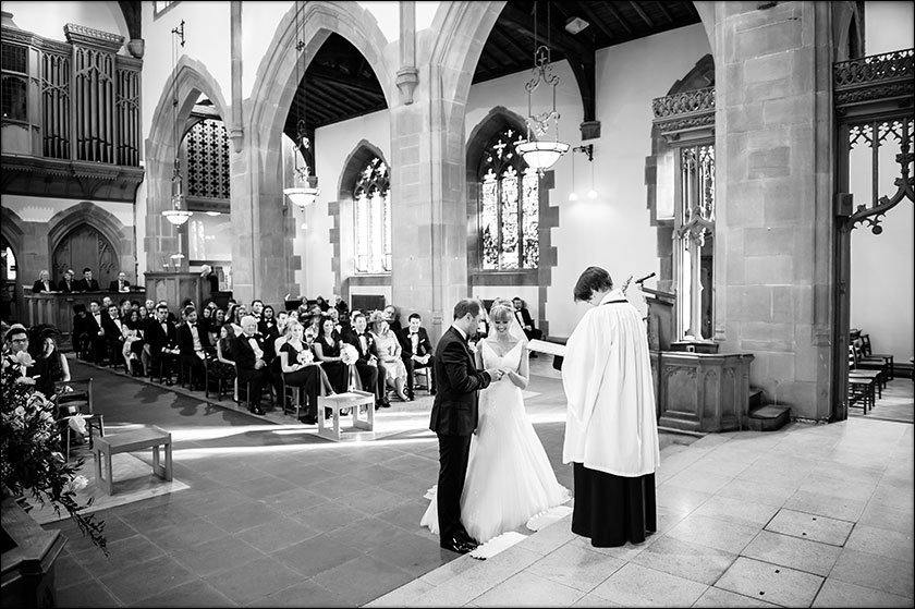 wedding pic Saint Nicholas Church liverpool