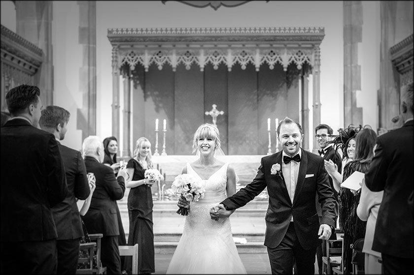 awesome wedding at Saint Nicholas Church liverpool