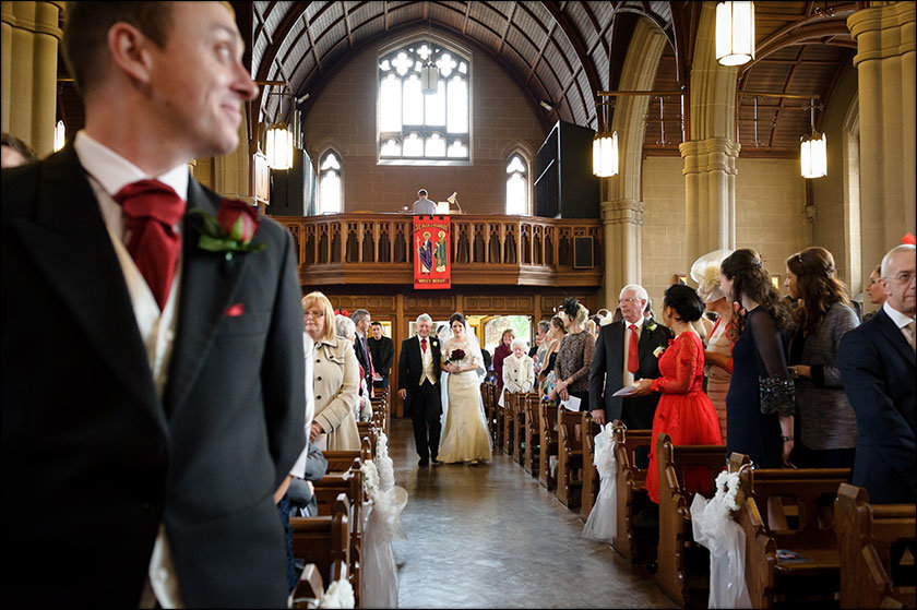 St Paul's West Derby wedding